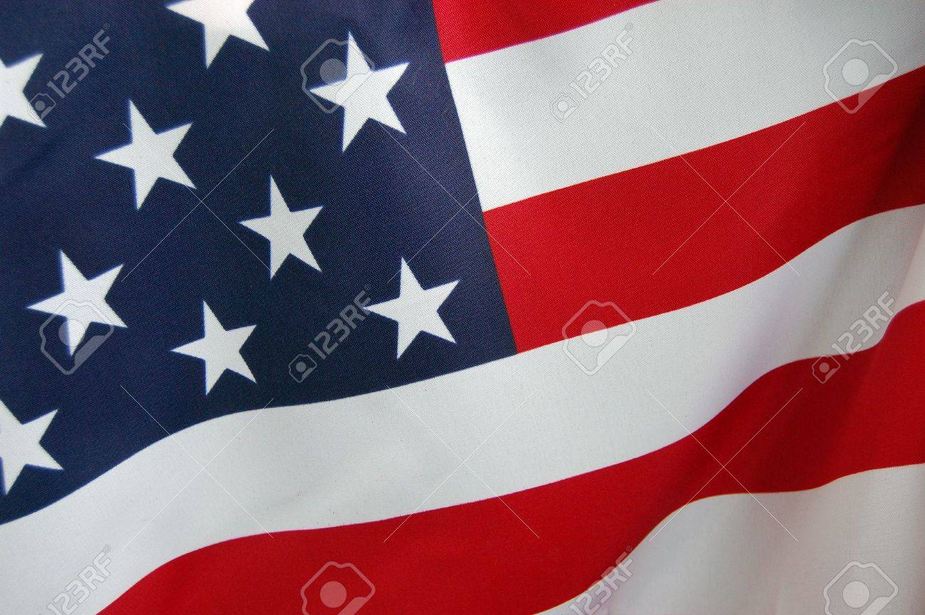 American Flag Stock Photo - 7605232