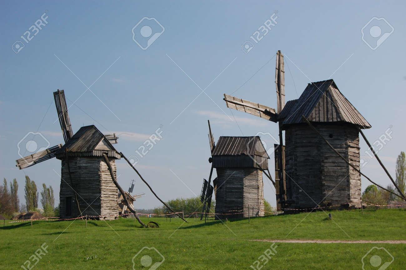 Old windmill. Ukraine Stock Photo - 7697468