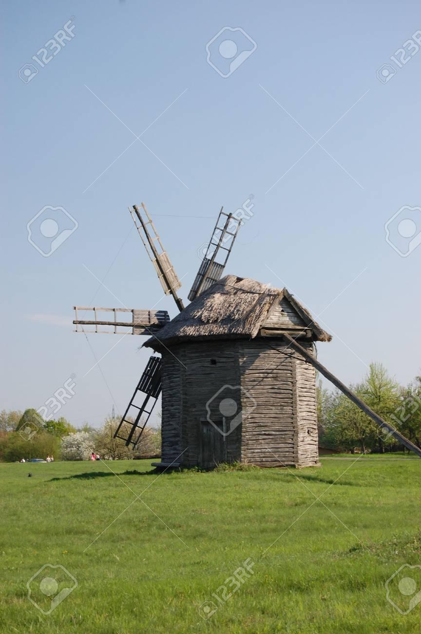 Old windmill. Ukraine Stock Photo - 7697502