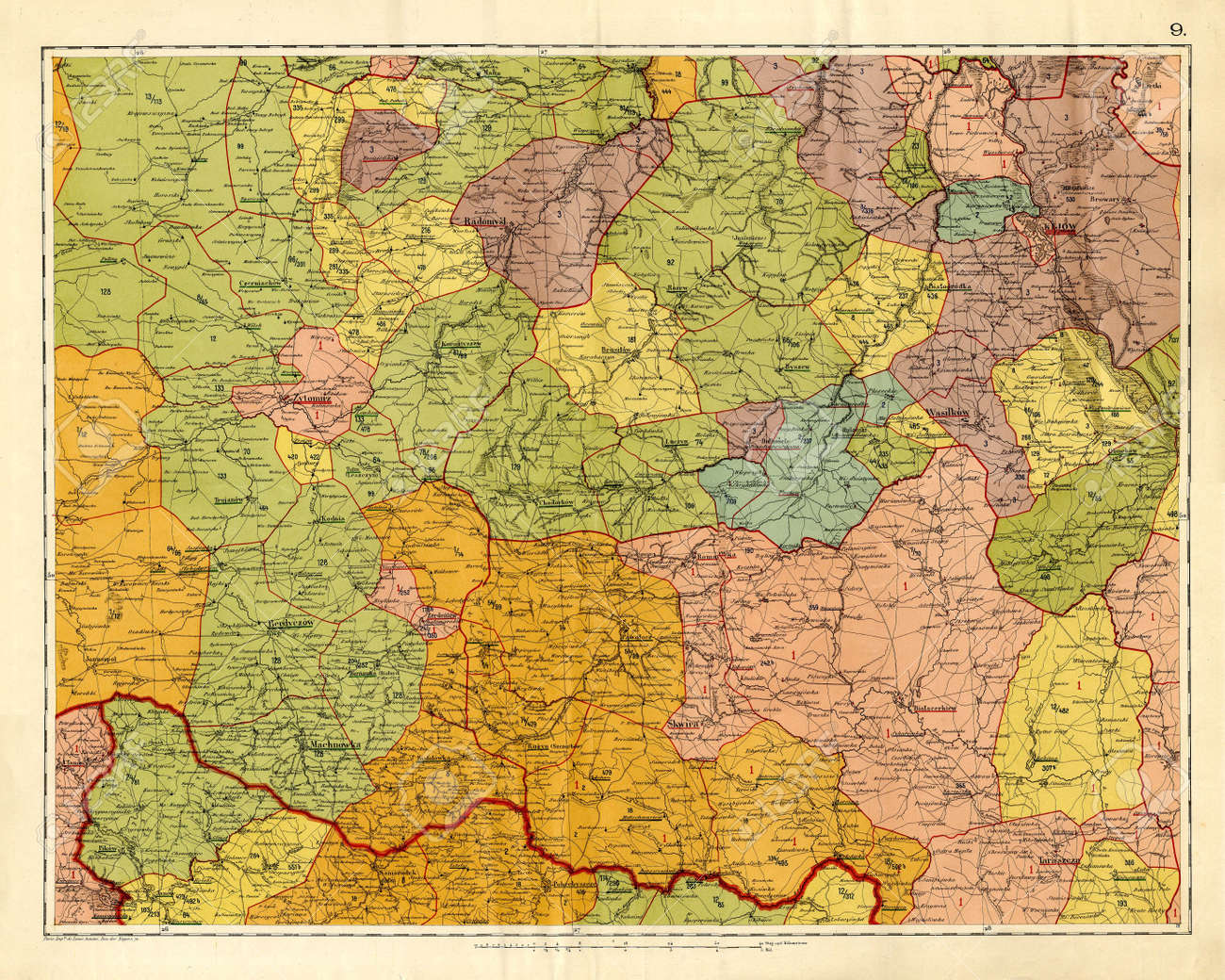 Old map Stock Photo - 7697819
