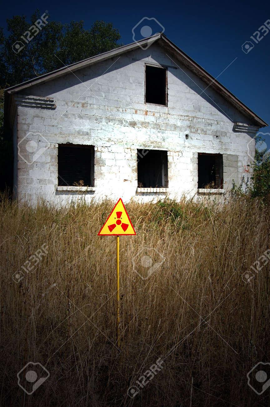 Lost city.Near Chernobyl area.Kiev region,Ukraine Stock Photo - 7706473