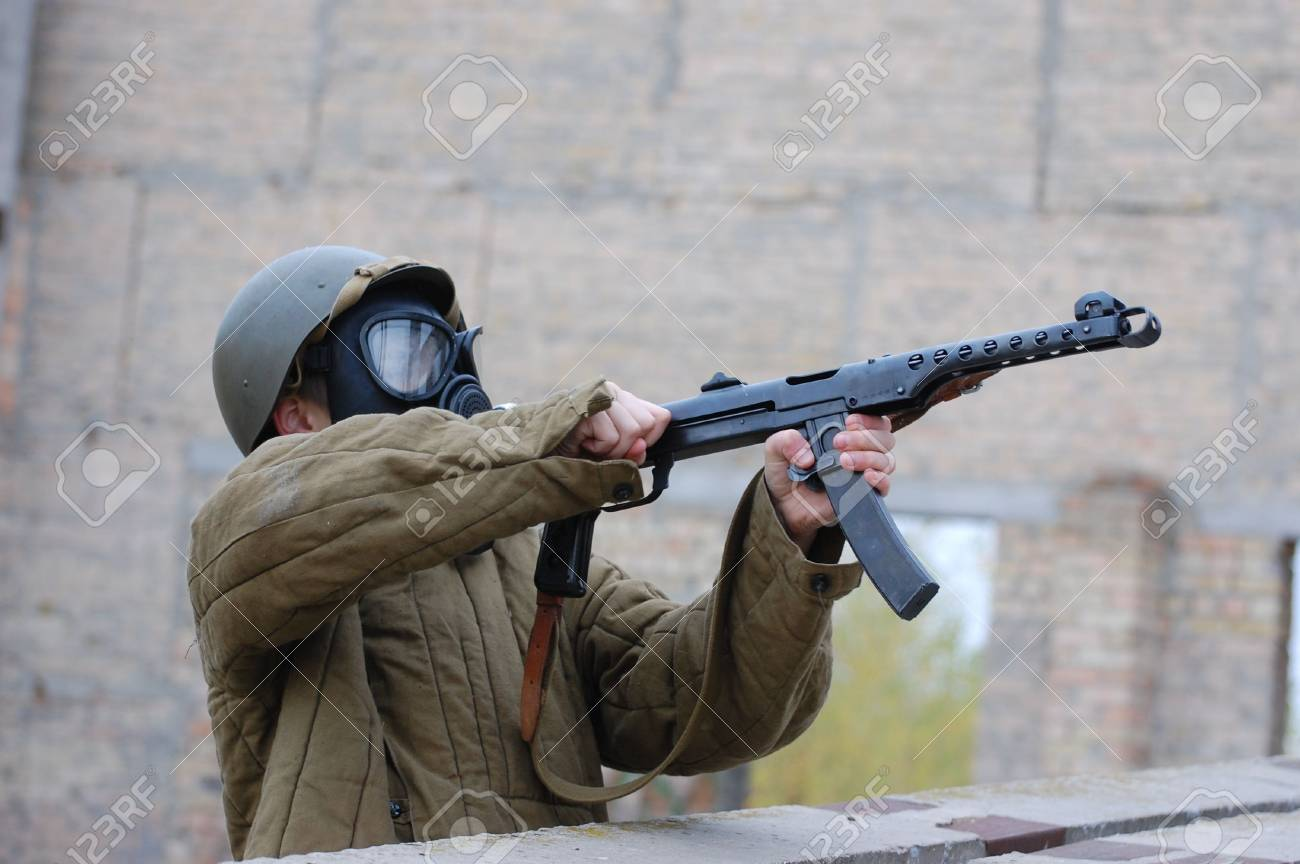 person in gas mask Stock Photo - 7712758