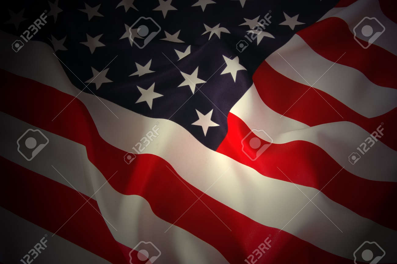 American Flag Stock Photo - 8144747