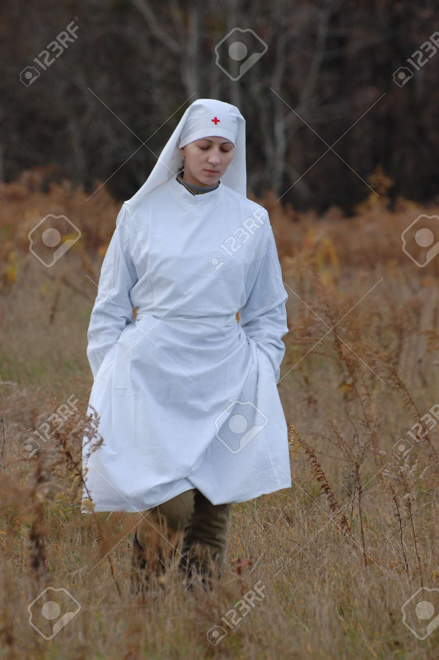 KIEV, UKRAINE - NOV 7:Member of Red Star history club wears historical Soviet uniform during historical reenactment of Kiev Liberation in 1943, November 7, 2010 in Kiev, Ukraine  Stock Photo - 8683679