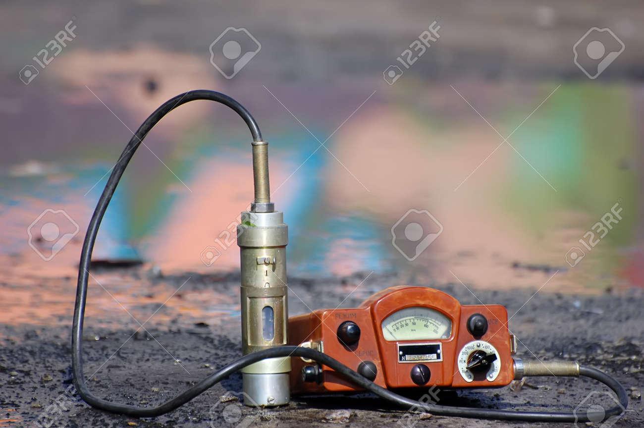 Military radiometer. Stock Photo - 9301025