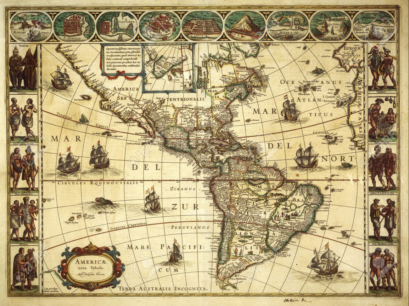 old map Stock Photo - 14066635