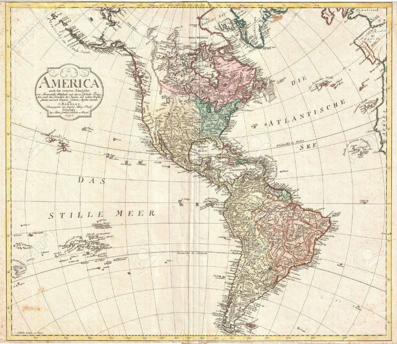 Resultado de imagen de america mapa vintage