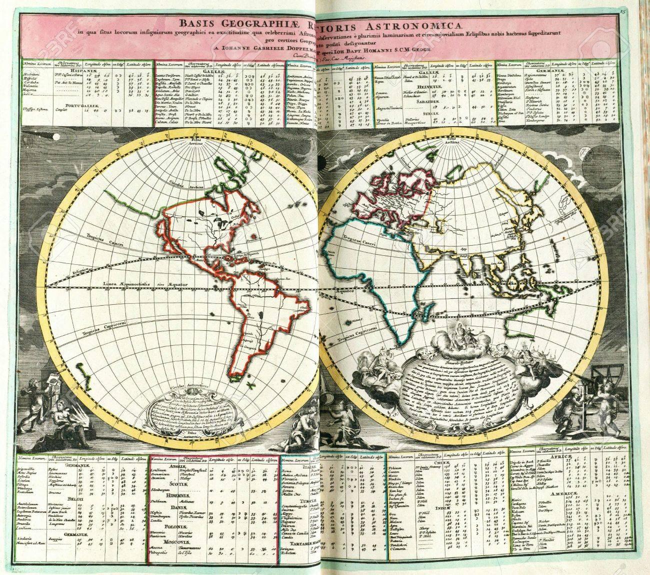 Astronomical chart vintage  Stock Photo - 18604994