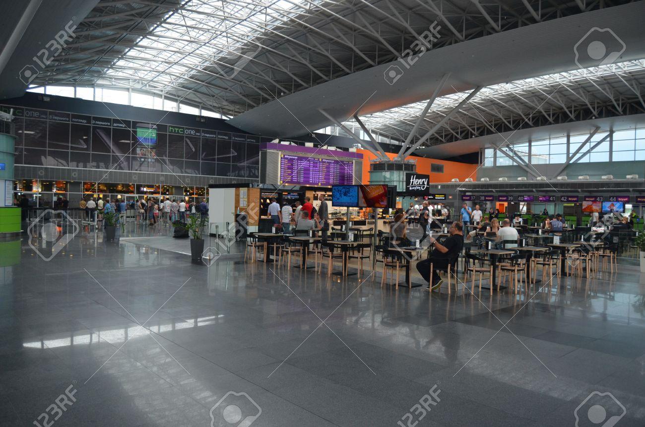 Aeroporto Kiev : Kiev ukraine jun borispol main airport of kiev terminal