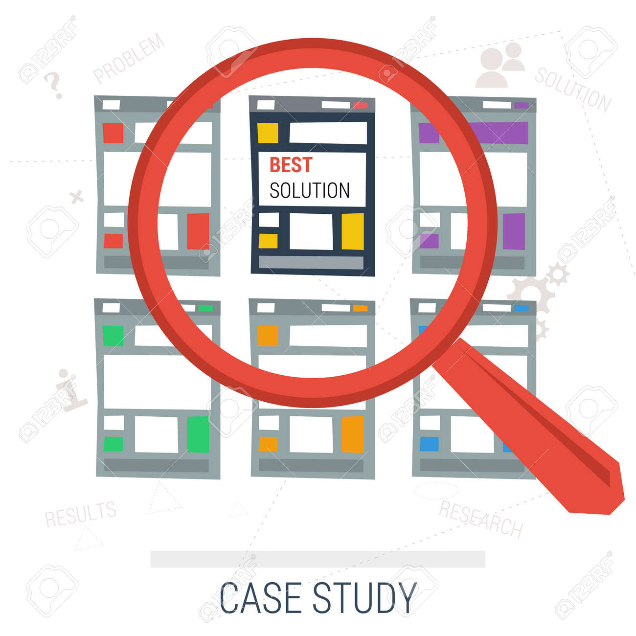 Vector Concept Case Study. Magnifier Search Across Multiple ...