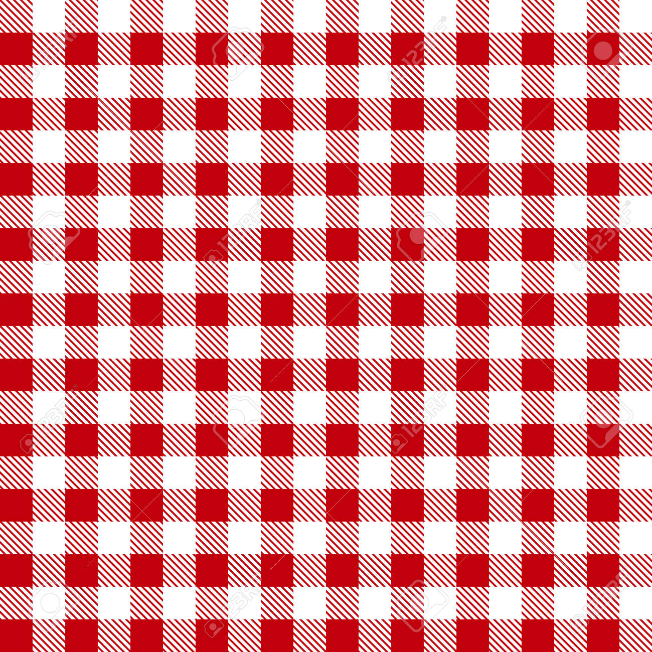Seamless Red White Tablecloth Pattern, Plaid Background Stock Vector    57002744