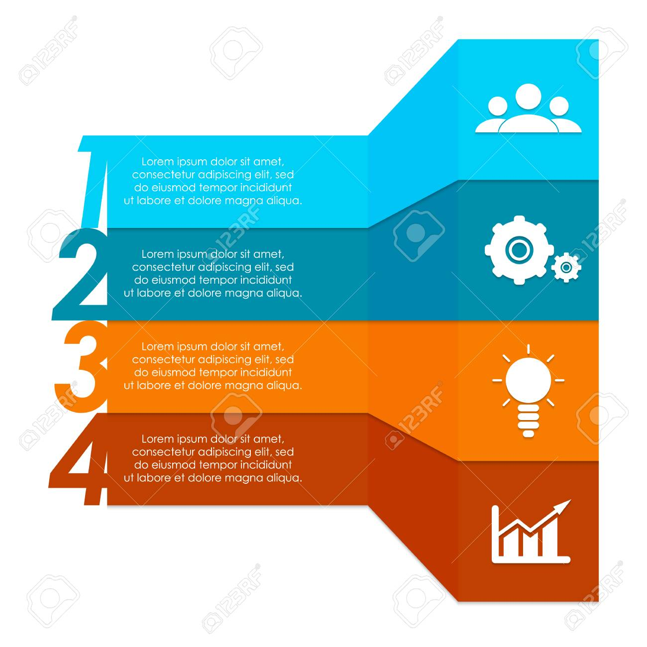 Infographic Elements. Can Be Used For Chart, Brochure, Diagram ...