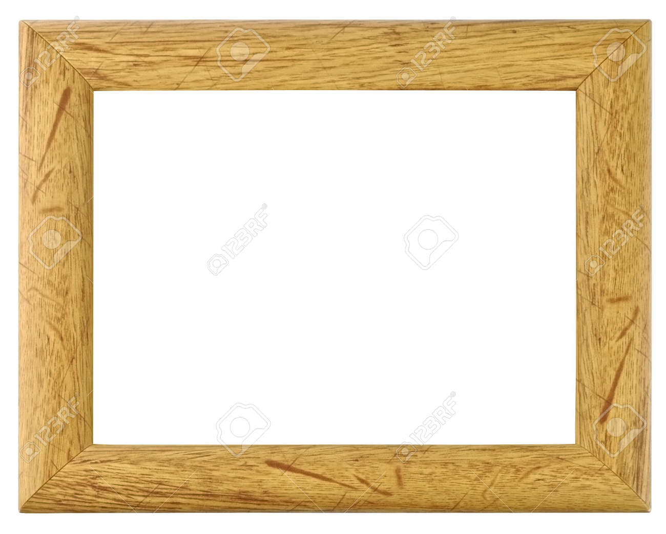 Beautiful Texture Wood Frame For A Picture Stock Photo Picture