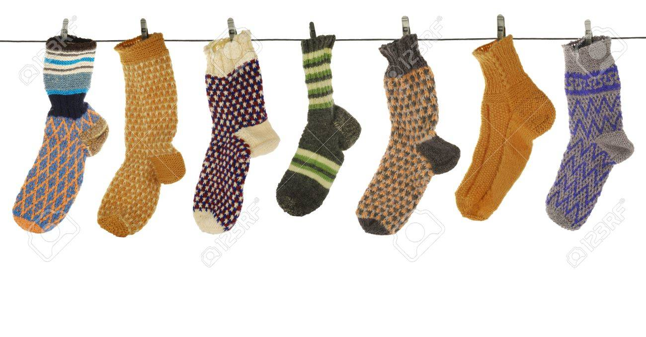 gift woolen sock of the handjob binding Stock Photo - 4366812