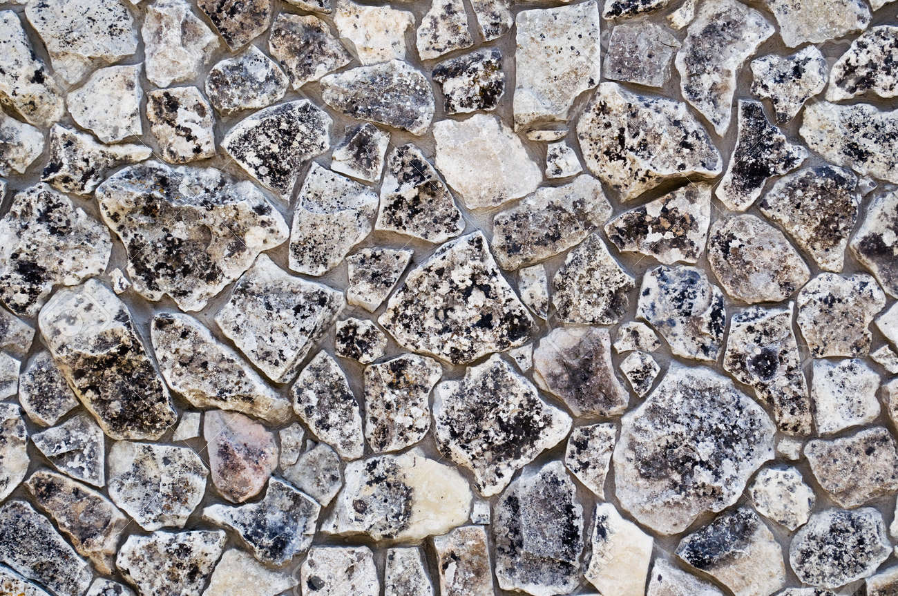texture of ancient stone walls as a background - 10922892