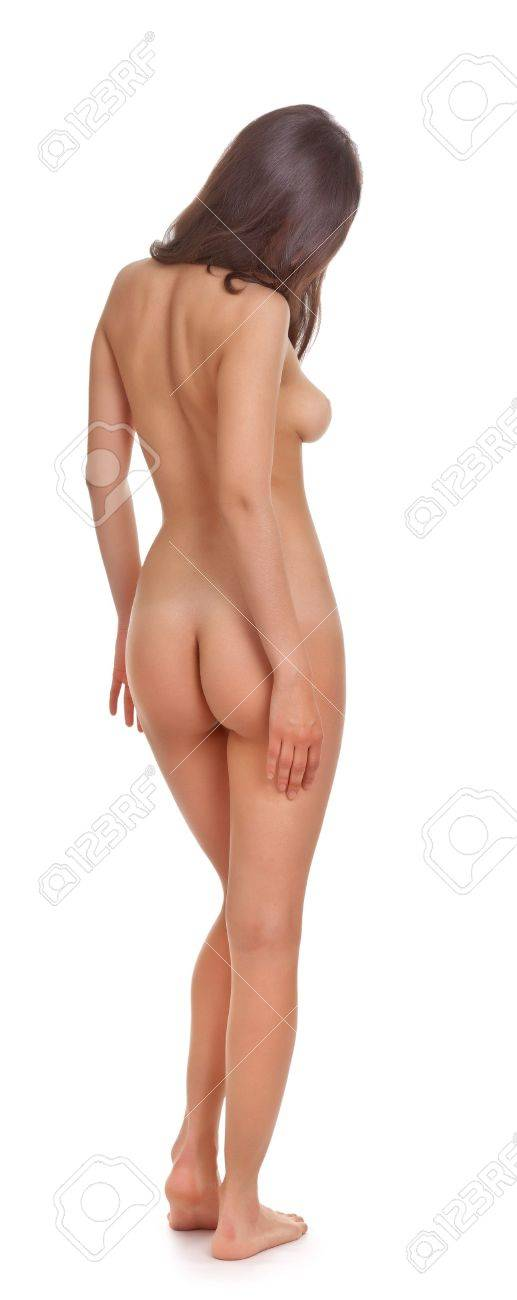 body naked woman on a white background Stock Photo - 10923221