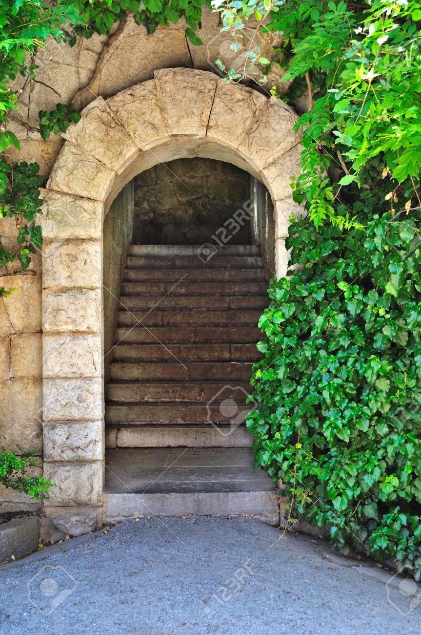 Entrance. Secret gateway to another world Stock Photo - 11181277