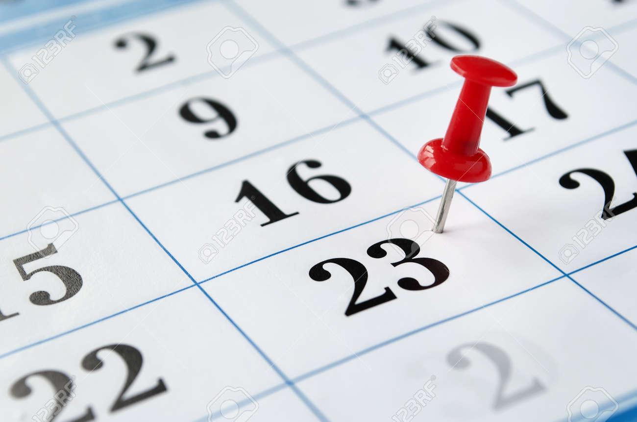 with a date calendar