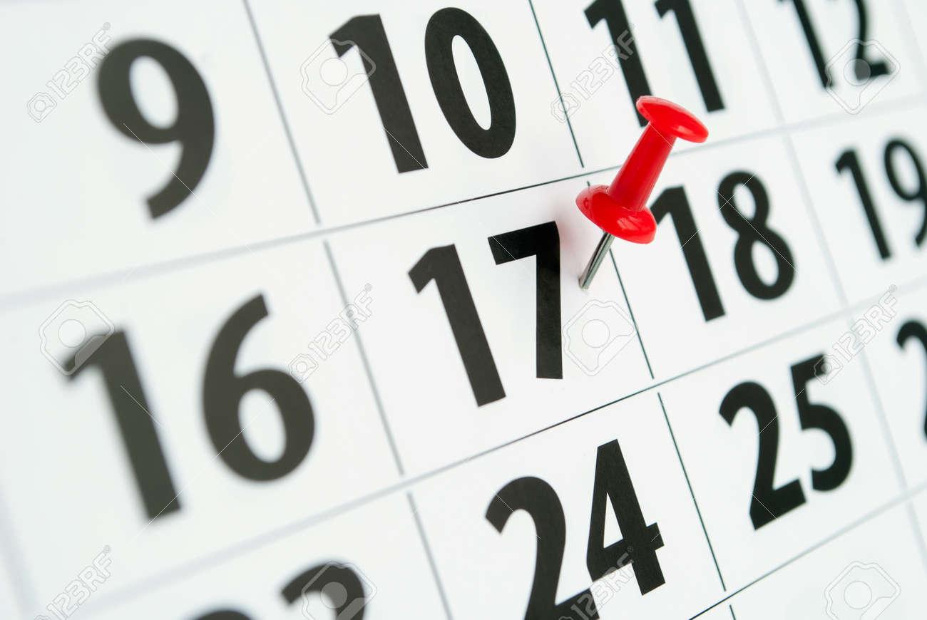 Marca Calendario.Pagina Se Marca Con Un Calendario Fecha