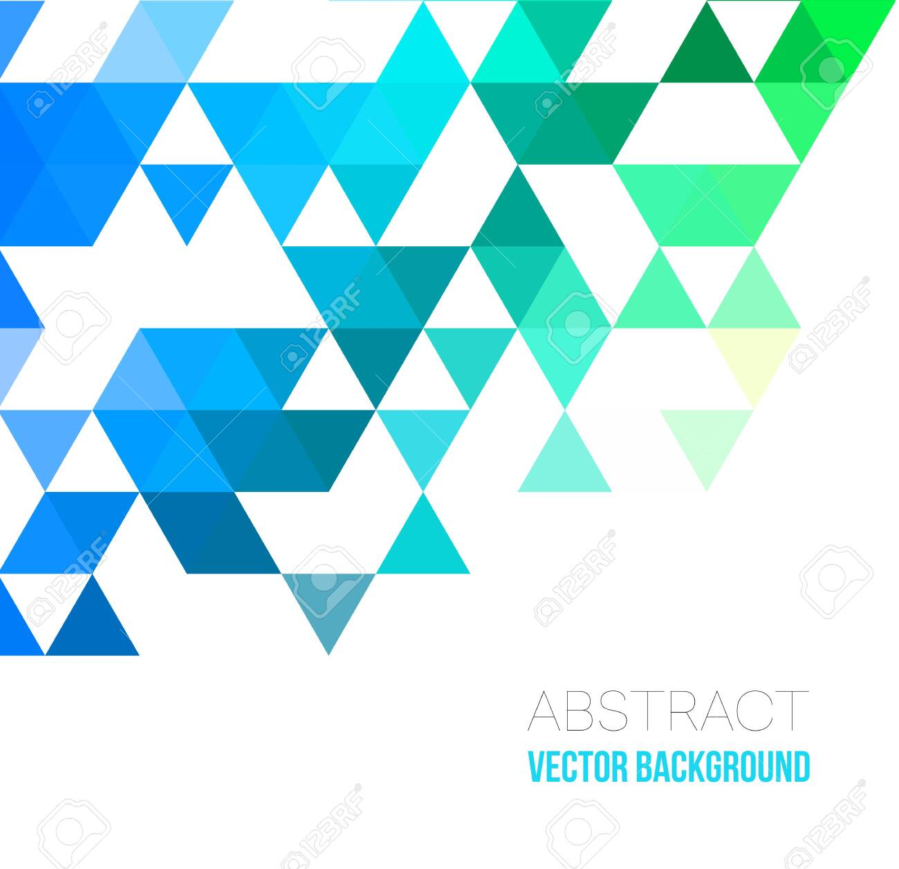 Vector Abstract geometric background with triangles. Vector illustration for your web design, desktop wallpaper or website. - 120534573