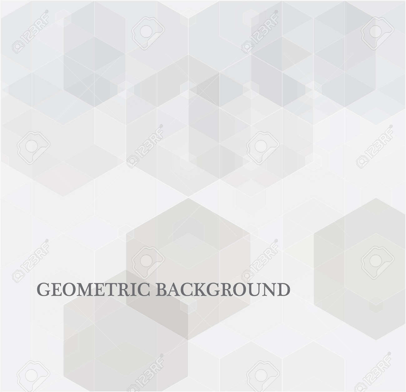 Vector Abstract science Background. Hexagon geometric design. - 165344489