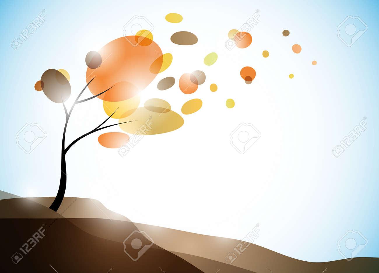 autumn background Stock Vector - 11084712