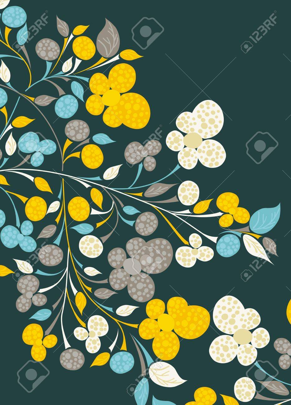 floral background Stock Vector - 13215230