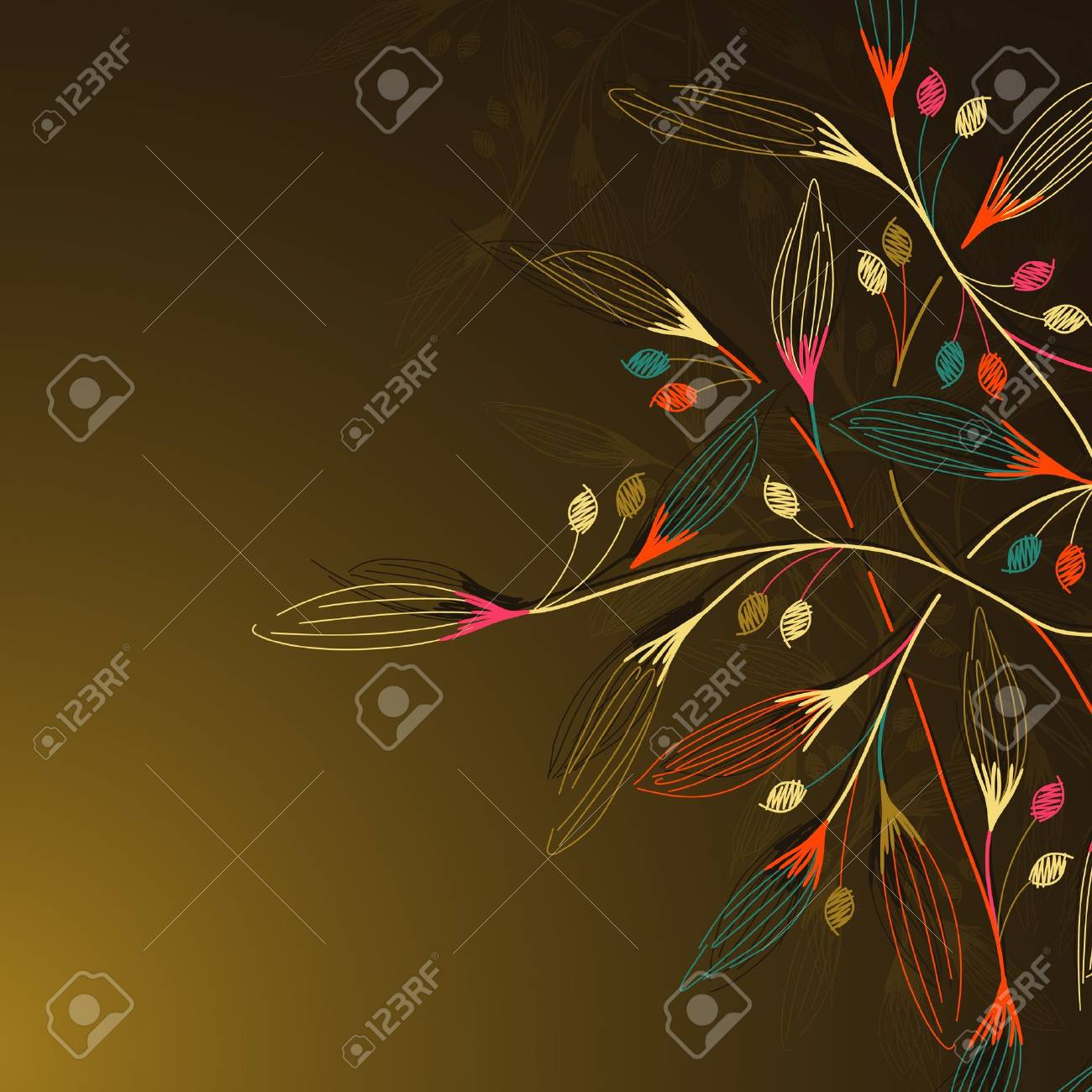 floral background Stock Vector - 13792668