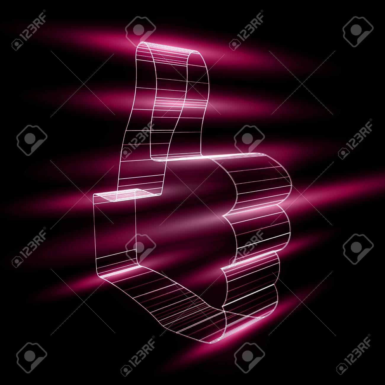 """abstract symbol of """"like"""" in style 3D Stock Vector - 14088614"""