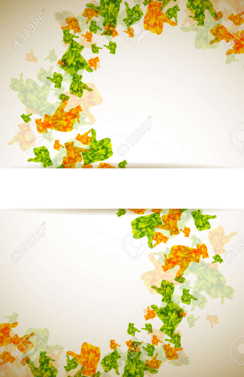 abstract like Stock Vector - 14811849