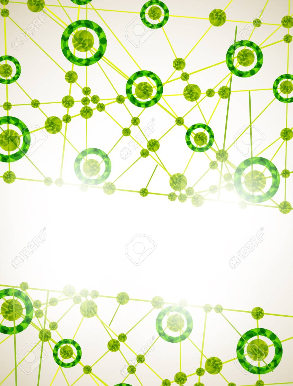 molecular structure, abstract background Stock Vector - 15707295