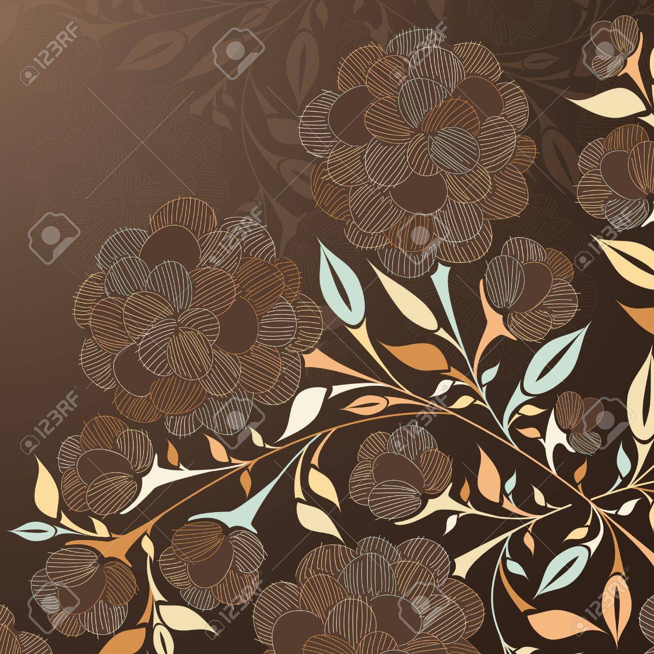 floral background Stock Vector - 15939346