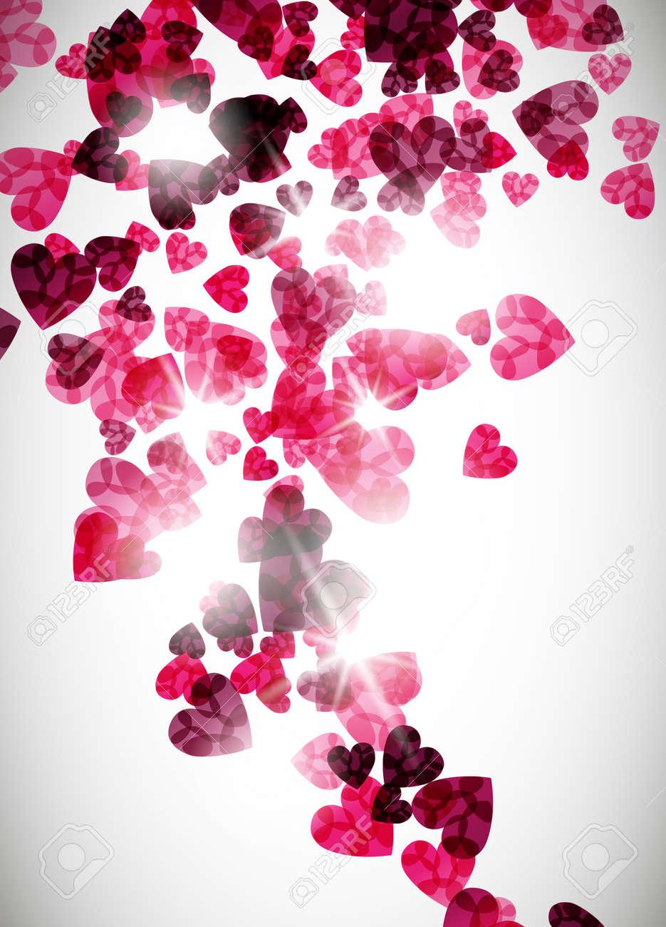 valentine background Stock Vector - 15991844