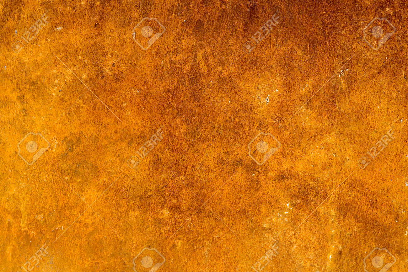 Photo of the texture of rusty painted metal Stock Photo - 651290