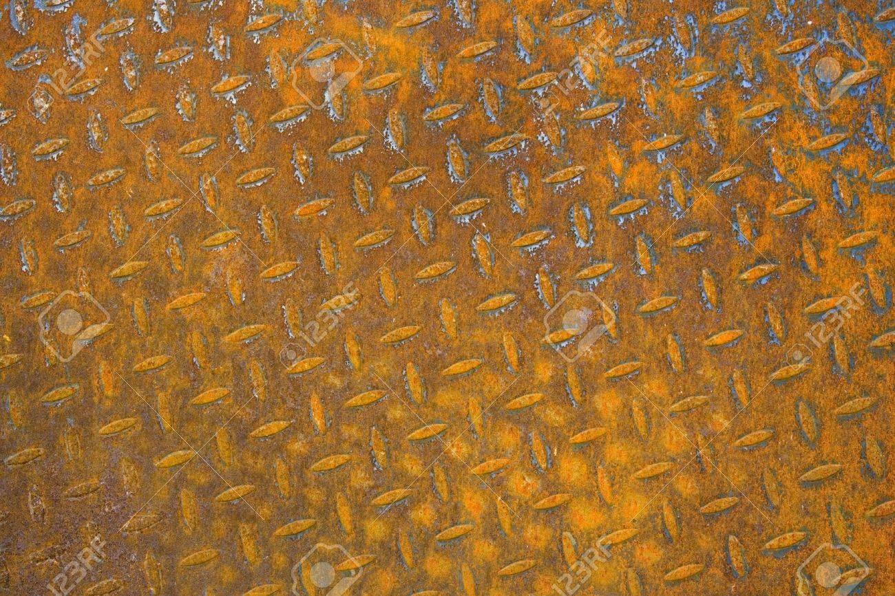 Texture of Rusty Sheet Metal Stock Photo - 906041