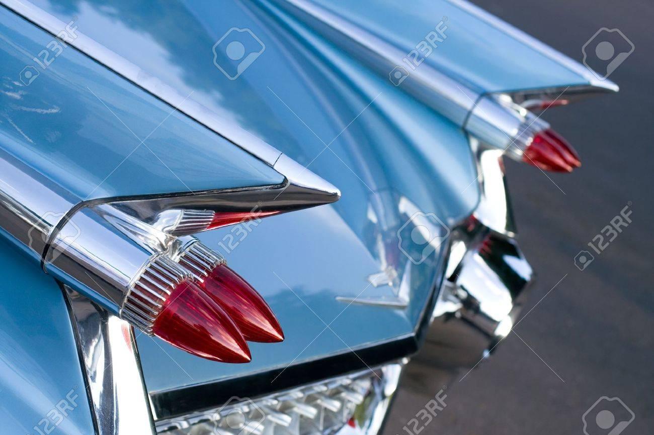 Back of Vintage Car Stock Photo - 1158829