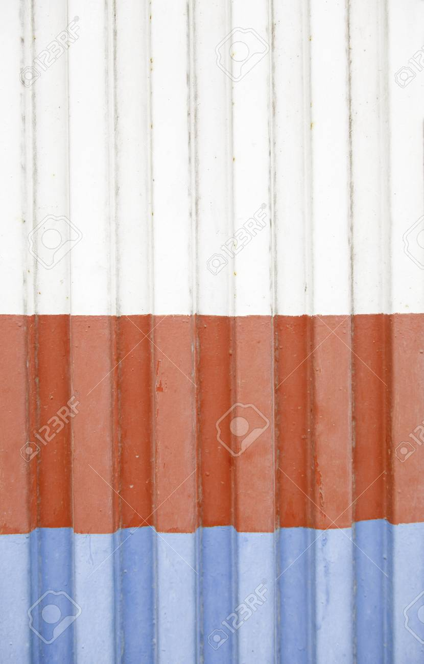 Colored metal door detail with metal background texture and color, exploration Stock Photo - 19983302
