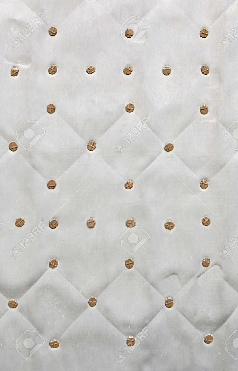 Metallic background with texture, detail of an old metal wall, relief and protection Stock Photo - 20995131