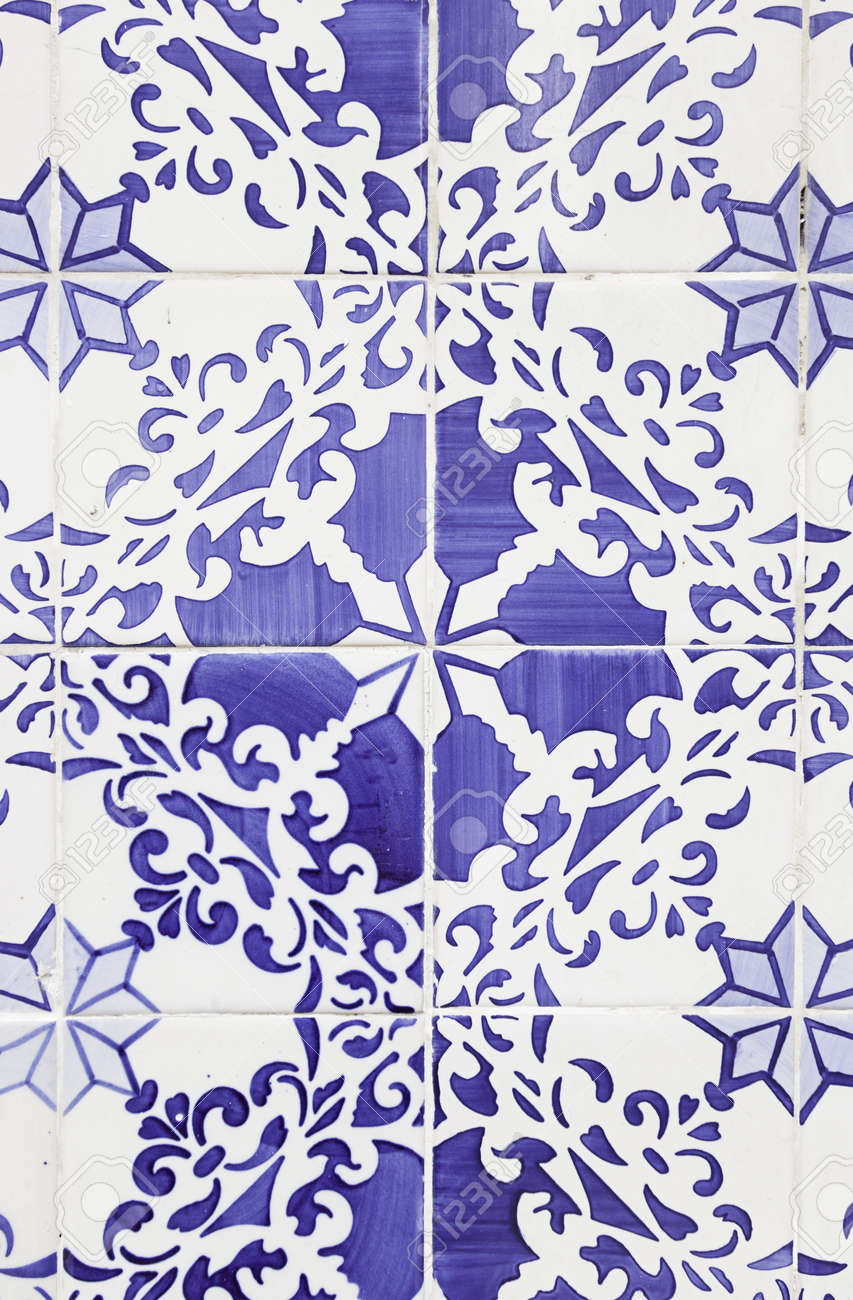 Typical old lisbon tiles detail of a classic ceramic tiles stock stock photo typical old lisbon tiles detail of a classic ceramic tiles art of portugal dailygadgetfo Choice Image