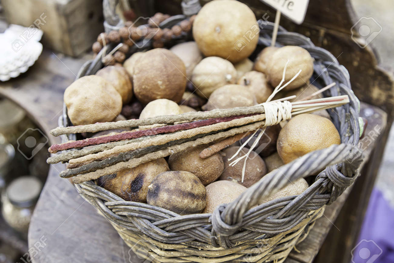 Medicinal herbs, detail of traditional medicine, witchcraft and