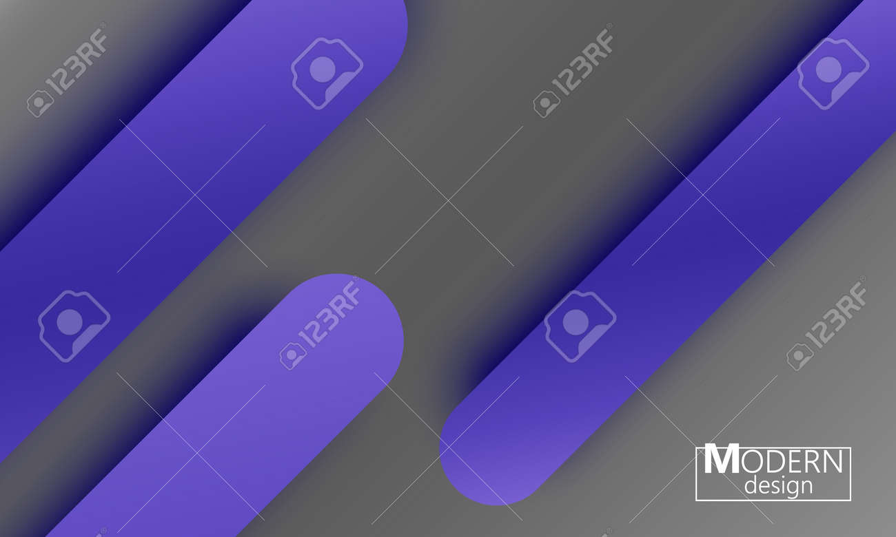 Geometric Background Material Design Minimal Abstract Cover Creative Colorful Wallpaper Trendy Gradient Poster Vector Illustration