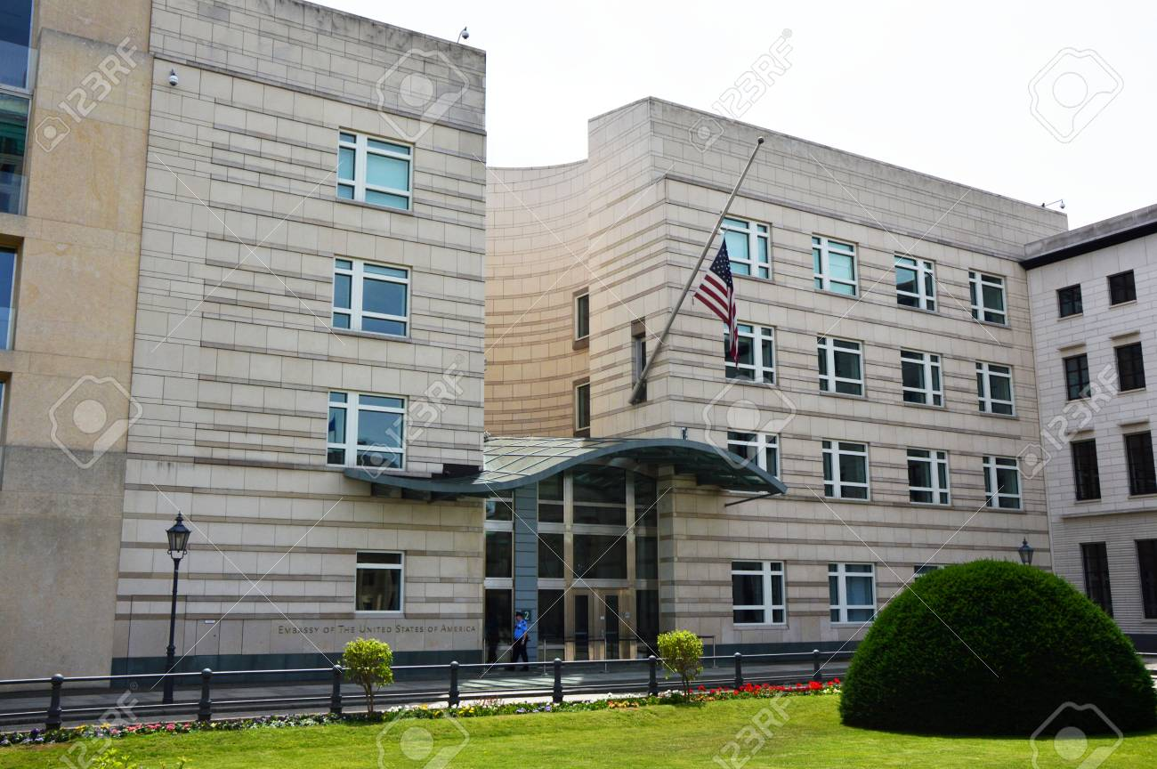 United States of America Embassy in Berlin, Germany - 81984234