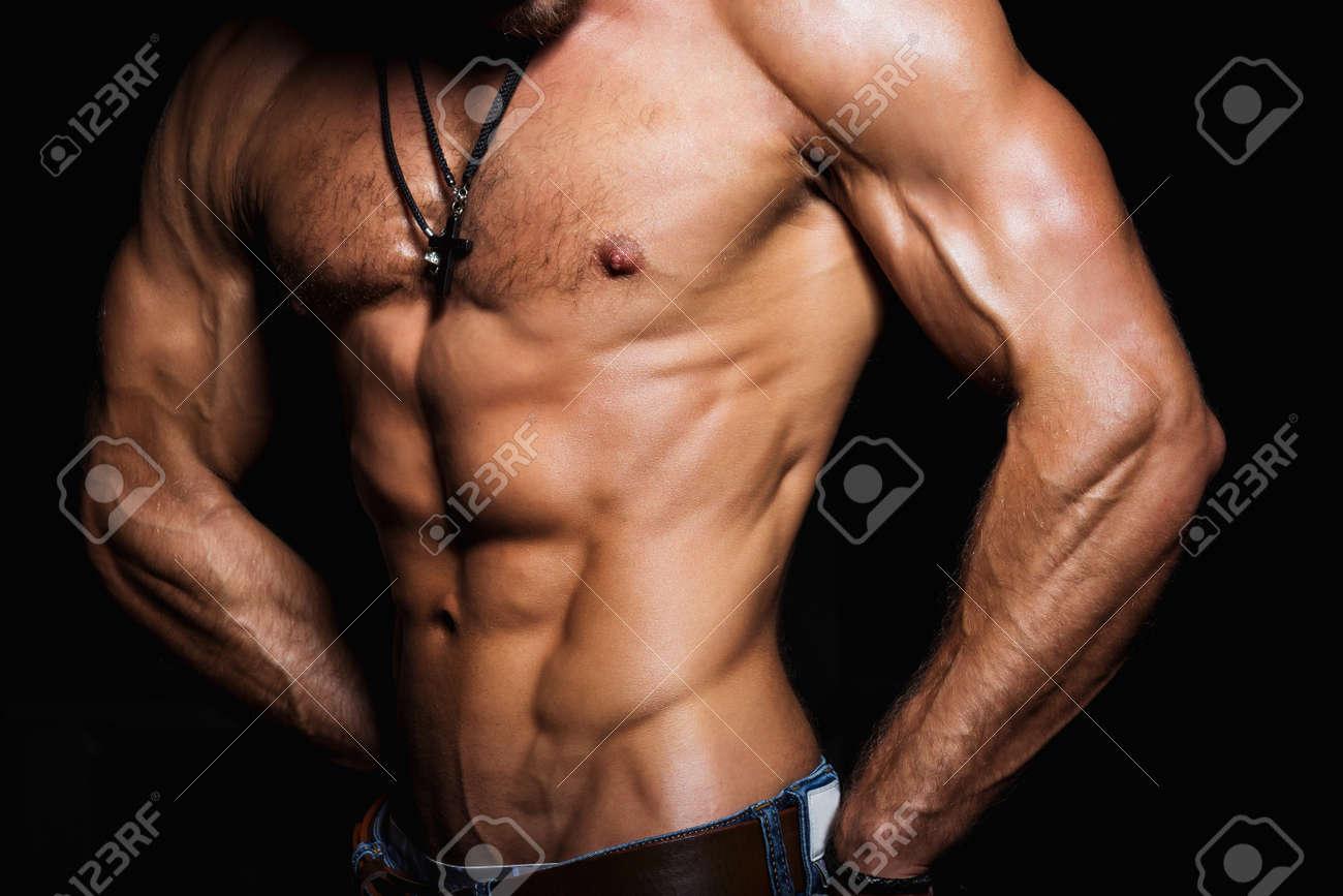Sexy sport man