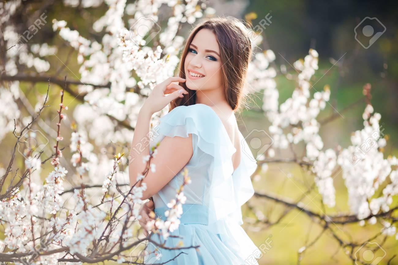 Beauty Girl Outdoors Enjoying Nature Beautiful Teenage Model Stock Photo Picture And Royalty Free Image Image 60692080