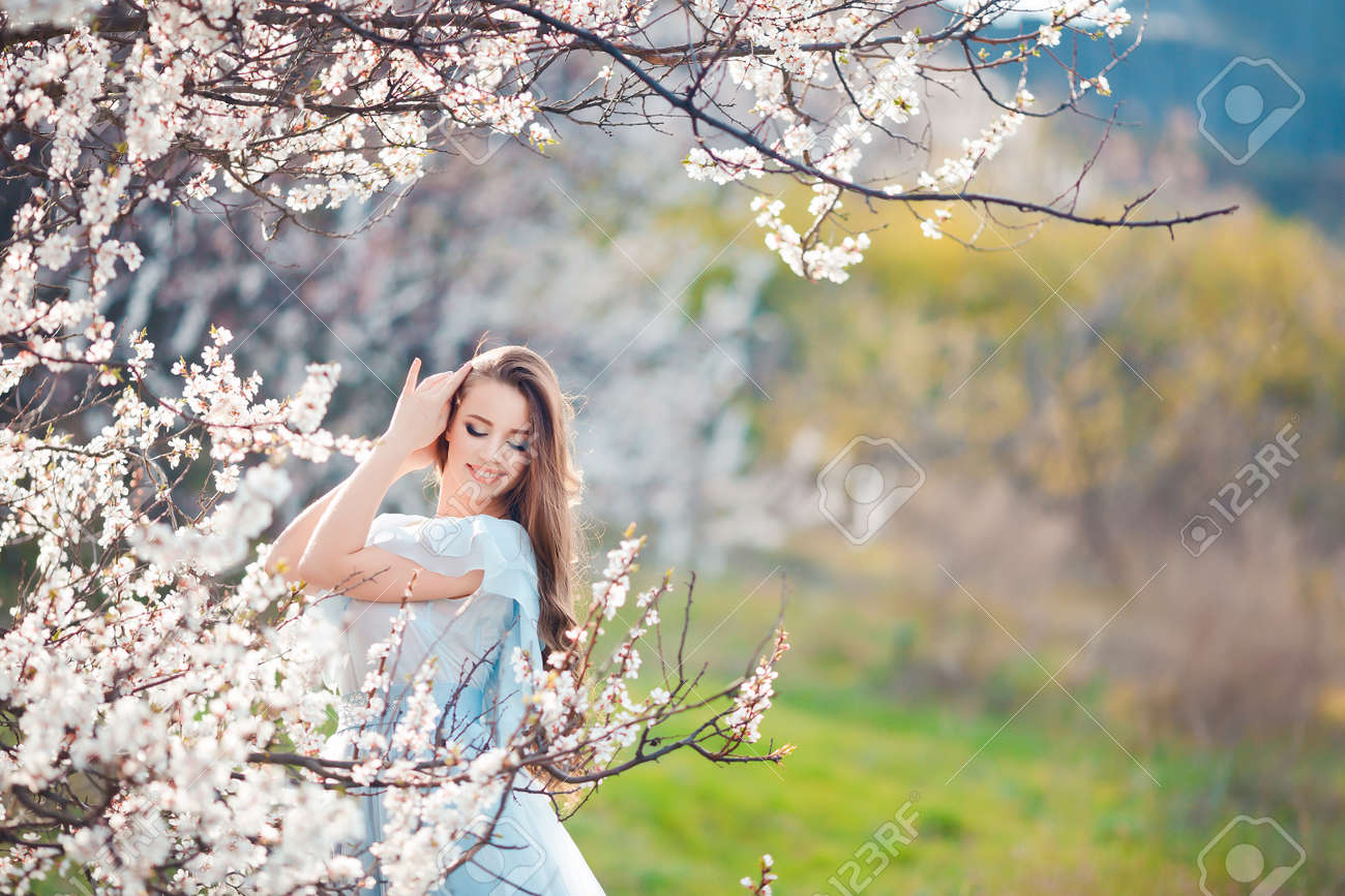 Beauty Girl Outdoors Enjoying Nature Beautiful Teenage Model Stock Photo Picture And Royalty Free Image Image 60692083