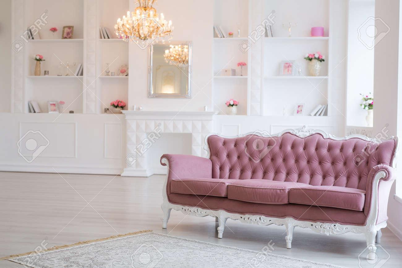 Luxury Rich Living Room Interior Design With Elegant Classic
