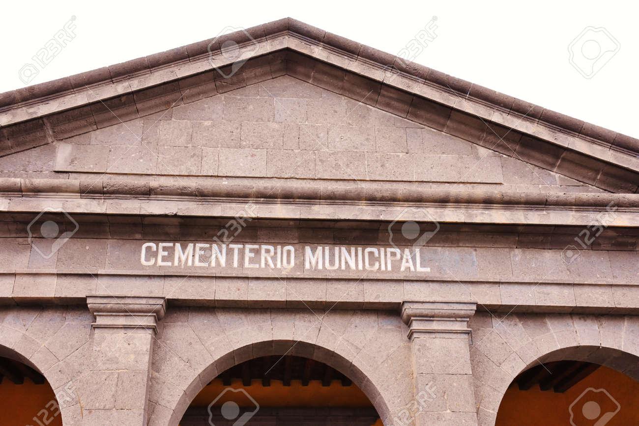 Cemetery of Las Palmas de Gran Canaria. February 2018 - 98328489