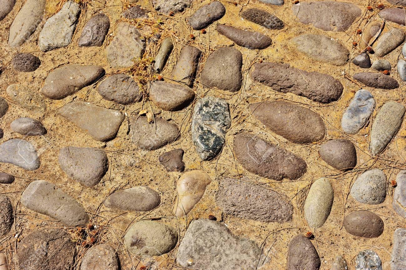 Stone pavement - 101557987