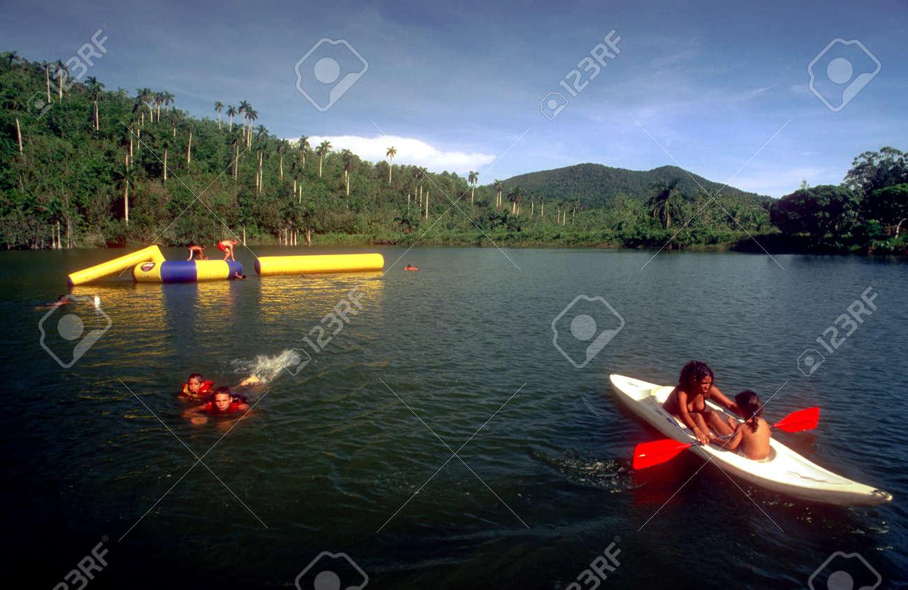 Kayak In Lago San Juan And El Palmar At The Eco Tourism Community