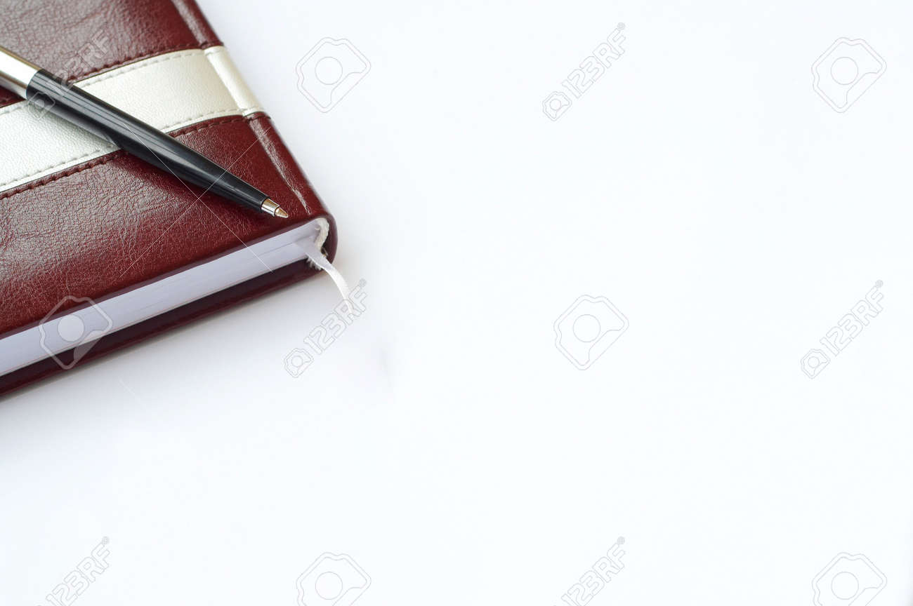 Notebook and ballpoint Stock Photo - 5983797